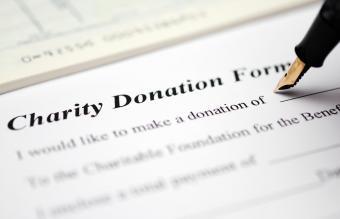 Simple Nonprofit Donation Request Form Templates