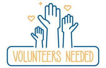 Volunteers needed banner design