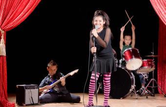 children at talent contest