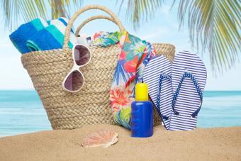 Beach Party Fundraiser Basket