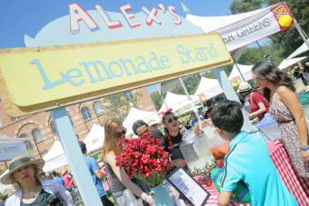 Alex's Lemonade Stand at 2018