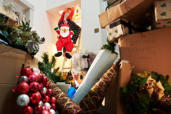 Putting christmas back in the attic