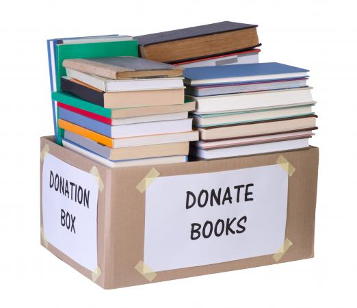 Books donation box