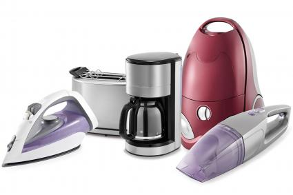 variety of small appliances