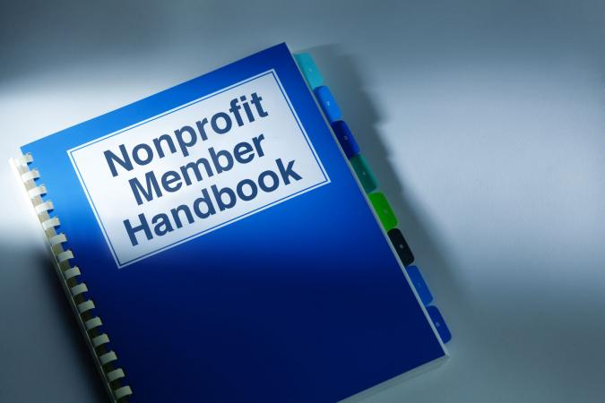 nonprofit member handbook