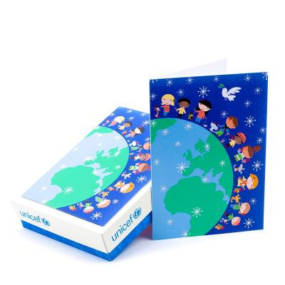 Hallmark UNICEF Boxed Christmas Cards, Children Around the World