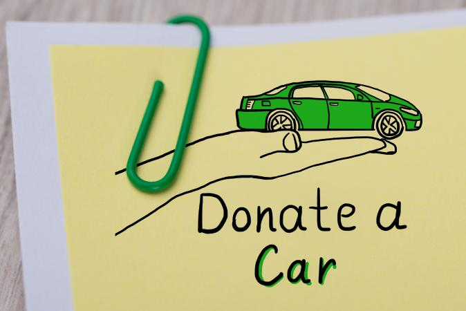 Note to donate car