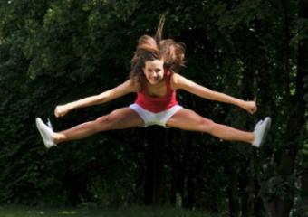 Cheerleader Spankies