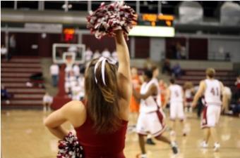 College Basketball Cheerleaders