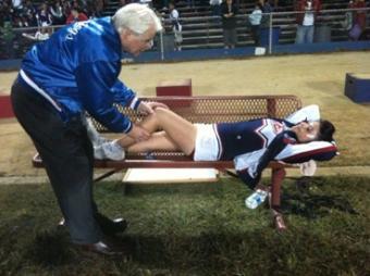 Cheerleading Injury Prevention Interview
