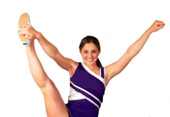 Heel Stretch Cheerleading Stunts