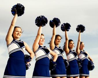 Floor Cheers for Cheerleading