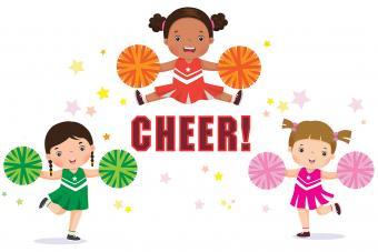 Cheerleading Cartoons