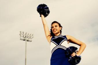 High School Cheerleading Stunts