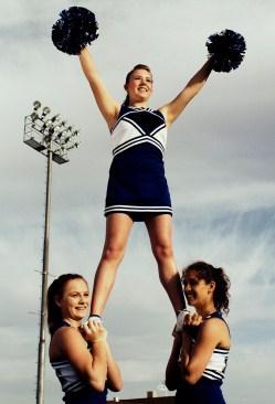 Difficult Cheerleading Stunts
