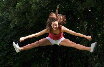 Improving Cheerleading Jumps