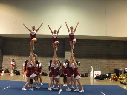DU Cheer Squad 2011
