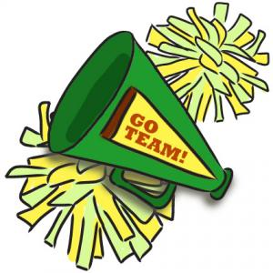 Cheerleader Clip Art 1