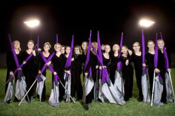high school color guard
