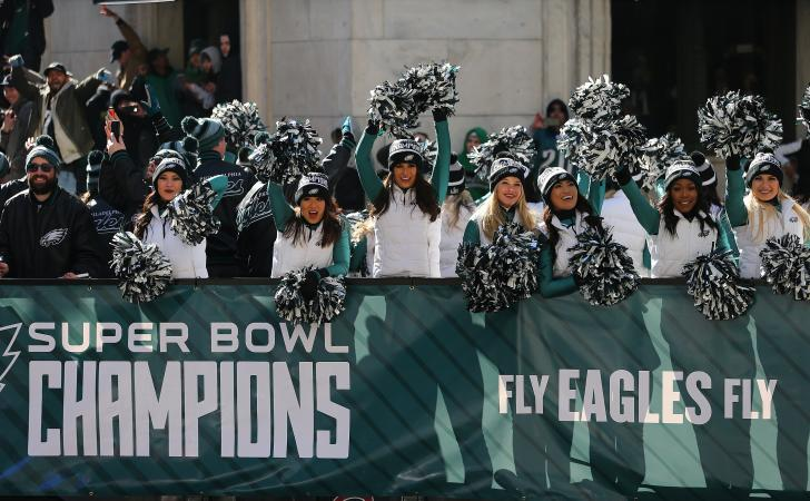 Super Bowl LII cheerleaders