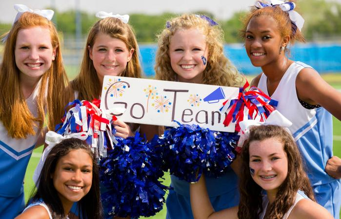 Ideas For High School Football Cheer Signs Lovetoknow