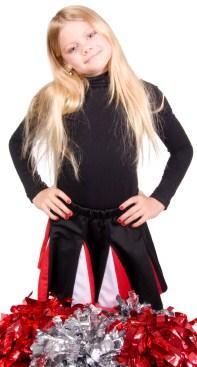 Cheerleader in catalog