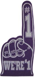 motivational foam finger