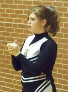 Hailey Soard Cheering