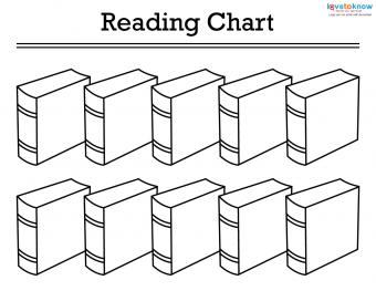 Book reading chart