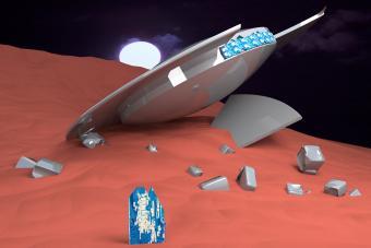 Ufo crashed