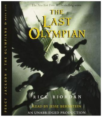 Percy Jackson Olympians books CD Collection