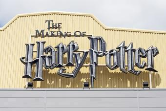 The Making of Harry Potter sign