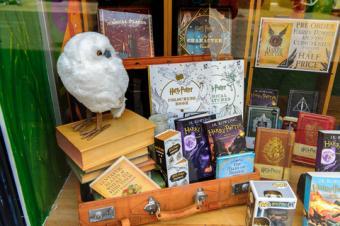 Harry Potter shop items