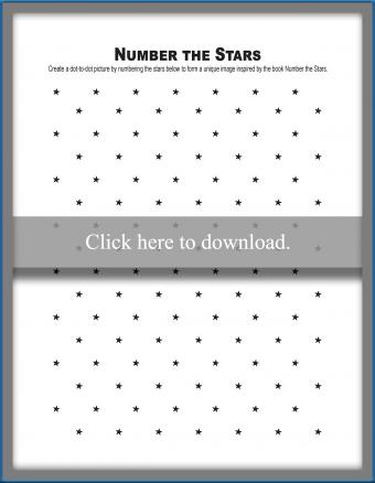 Number the Stars Worksheet