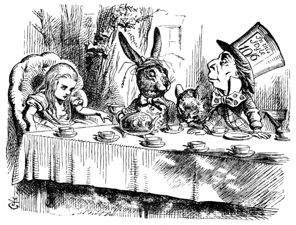 Alice's Adventures in Wonderland illustration