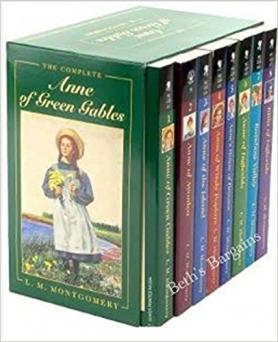 Anne of Green Gables book set
