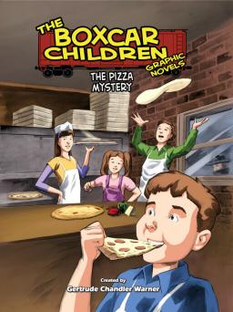 The Pizza Mystery Graphic Novel