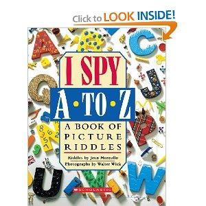 I Spy A to Z book.