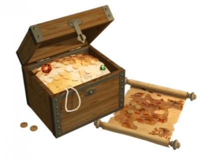 Treasure and map