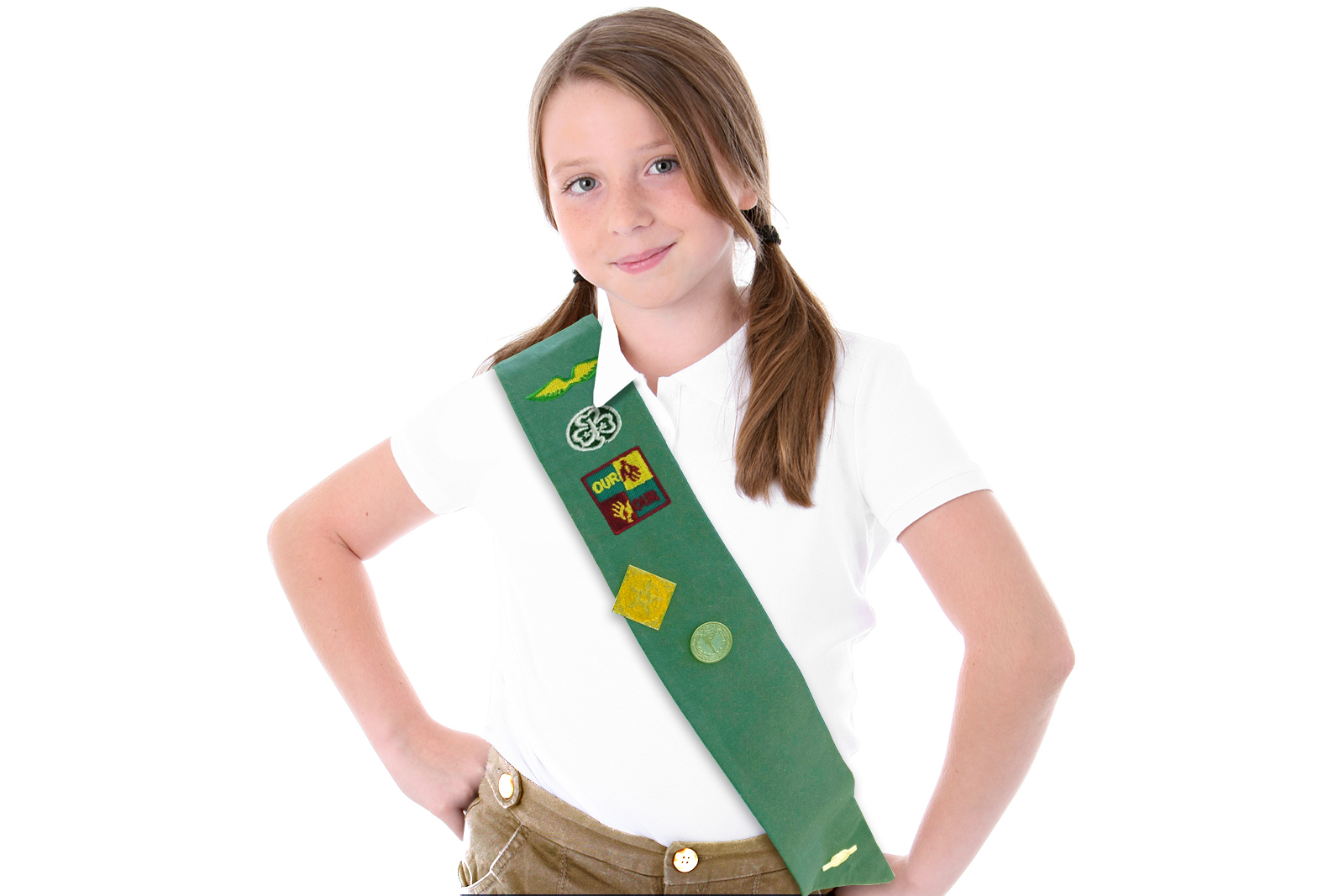Busty girl scouts — photo 13