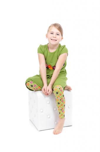 Green Leggings Outfit
