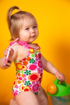 Baby Swimsuit Coverup