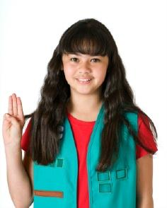 Girl Scout Badge Placement