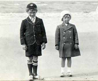 early 1900s kids