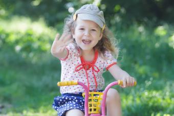 Toddler Girls Summer Tops