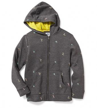 Old Navy Full Fleece Zip Hoodie