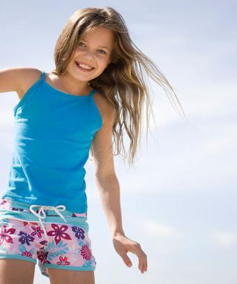 Girls' Summer Fashion Photos