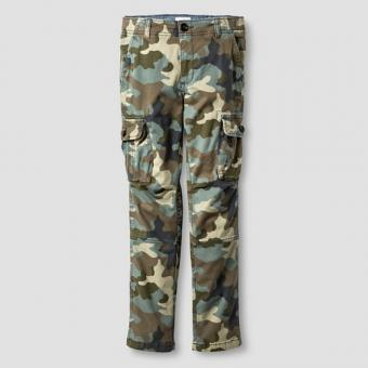 Boys' Slim Fit Stretch Cargo Pants