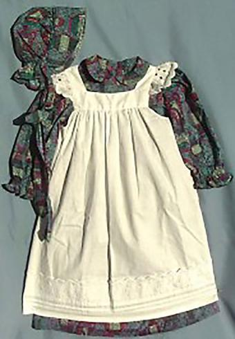Pinafore with Bonnet