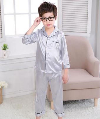 Boys Satin Pajamas at Sun-Bay